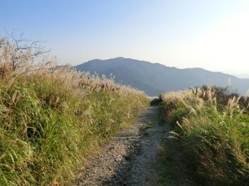 葛城山から水越峠・金剛山.JPG